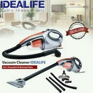 Vacuum Cleaner 2 in 1 Idealife Sedot Debu Blower IL 130S Pembersih Rumah & Mobil