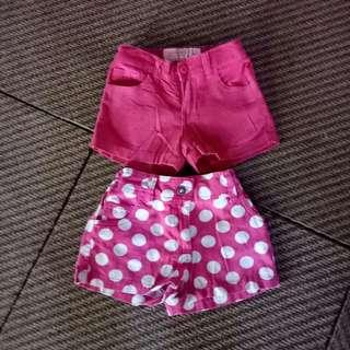 Snoopy pink short (200php for 2)