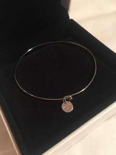 Rosefield silver bangle