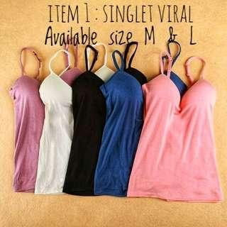 Seamless Padded Camisole Adjustable Strap Top