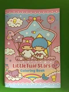 Little Twin Stars填色簿