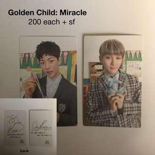 Golden Child Miracle PC: Jibeom and Joochan