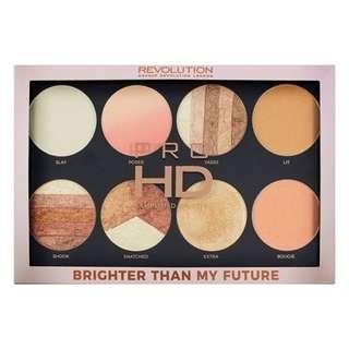 Revolution Brighter Than My Future Highlight Palette