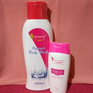 BodyWash & Stemcell Weminine Wash