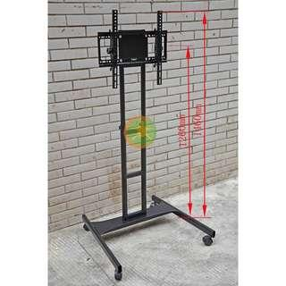 LCD LED TV trolley stand rack bracket 40 - 63 inch