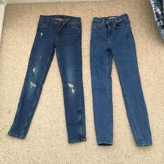 Zara jeans 2 for $10