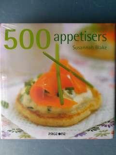 500 Appetisers 烹飪書