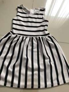 hnm stripes dress