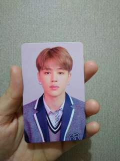 Photocard JIMIN from BTS LY ANSWER