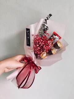 🎓 Graduation bouquet // Mini Chocolate bouquet