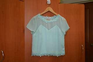 Love Bonito Mint / Turquoise Top