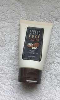 authentic pore foam scrub