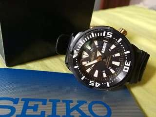"Seiko baby tuna ""black gold"""