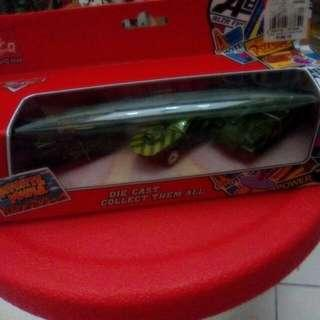 Toy # 3 - Die Cast Green Car N Vehicles For Military People