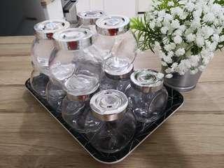 Ikea spice jars
