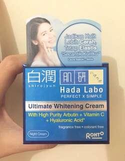 Hadalabo Ultimate Whitening Cream