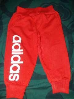 Celana adidas merah