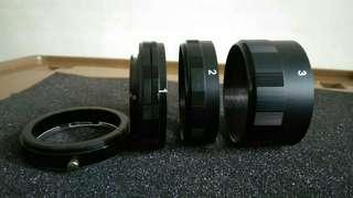 Marco extension tube 3 wings for Nikon Rp.200.000