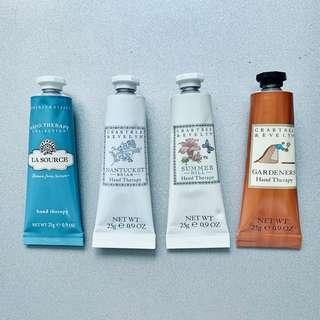 Crabtree & Evelyn Hand Therapy 潤手霜