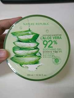 Nature Republic Soothing & Moisture Aloe Vera 92% Import MADE IN KOREA