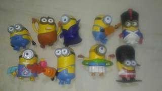 Minions Set (Mcdonalds)