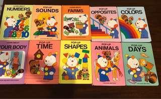A8 - 10 Buku Cerita Anak seri pop up
