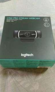 C922 羅技科技 網路攝像機 僅開封 無使用