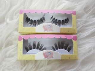 Eyelashcious Human hair #oct10