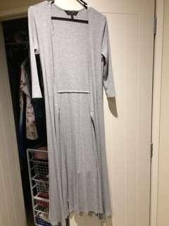 Tie around dress