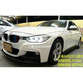BMW 12年328I 2.0 未領牌 可辦新車利率