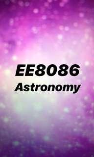 NTU Ee8086 astronomy