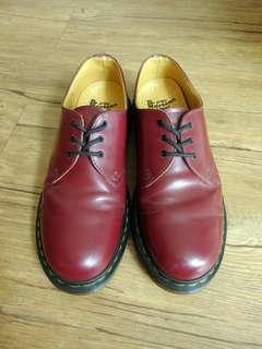 AUTHENTIC Dr. Martens 1461 Cherry Red Low