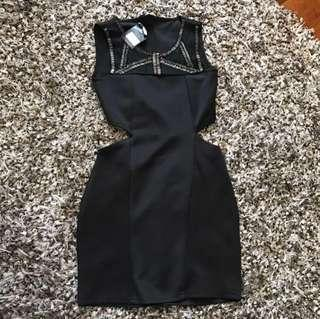 NEW MDS Black Dress