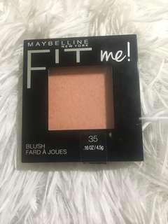 Maybelline Fit Me Coral Blush