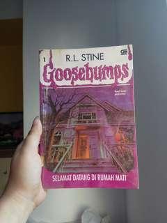 R L Stine Goosebumps Selamat Datang Di Rumah Mati