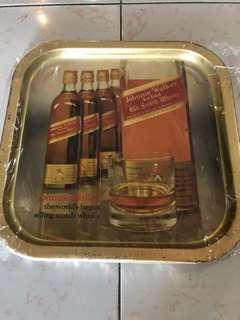 Rare n Old Johnnie walker whisky tray