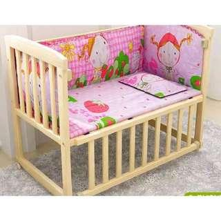 baby crib 2 in 1 you can also convert it into computer table