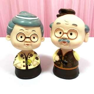 [Rent] Cute Couple Doll for Wedding Decoration