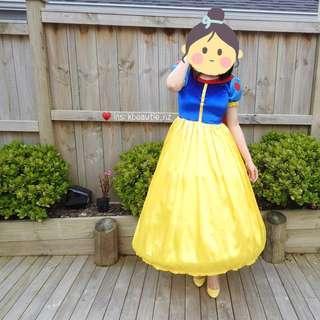 🎃 HALLOWEEN Snow White Costume