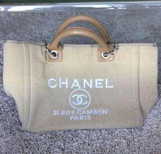 Chanel beach tote