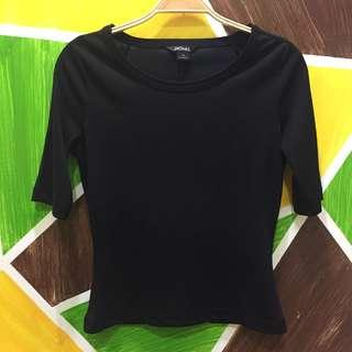 Monki Black 3/4 Sleeves