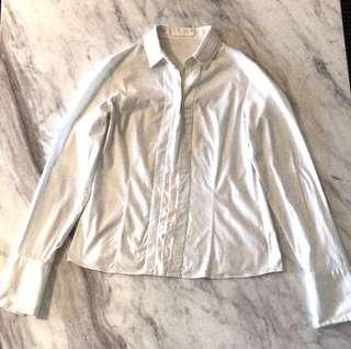 Hugo boss white shirt size 10