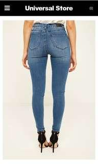 ZIGGY blue denim jeans