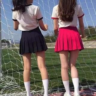 American Apparel Red Tennis Skirt #SEPPAYDAY