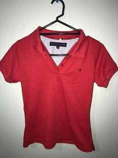 Tommy cropped shirt