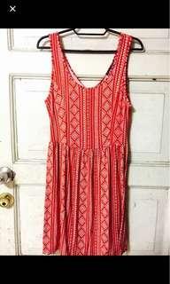 Comfy RED Aztec Dress