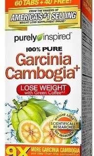 Purely Inspired, Garnicia Cambogia+ 100 tablets