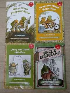 Frog & Toad Series by Arnold Lobel (4 books)