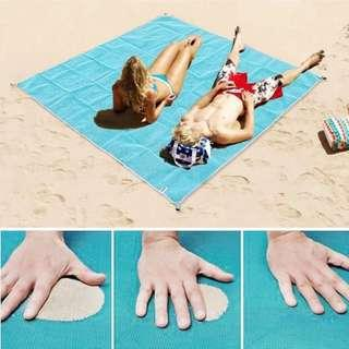 Sand Proof Beach Mat Waterproof Polyester PVC