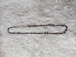 Kalung panjang silver